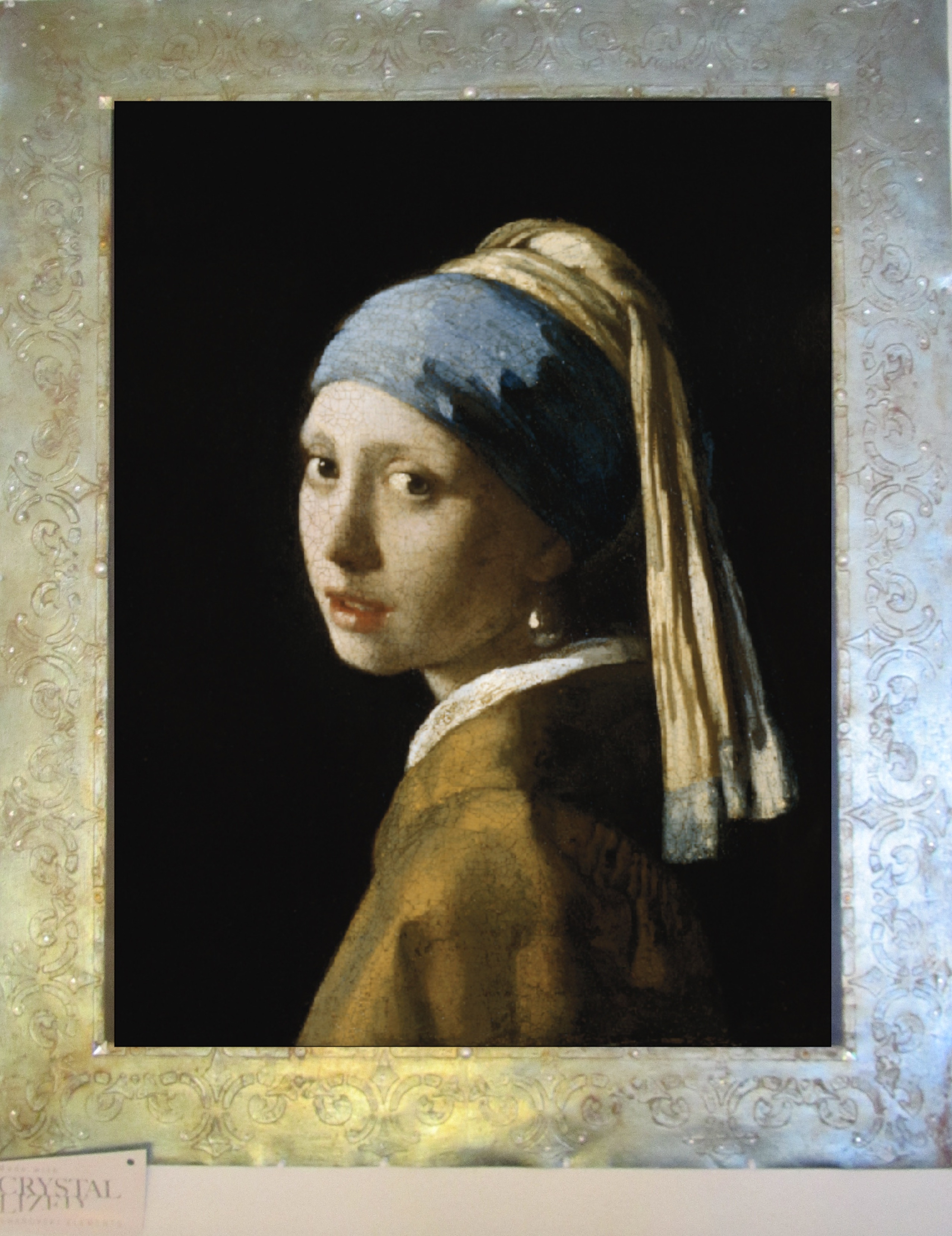 """Vermeer's """"The Girl With the Pearl Earring"""" 